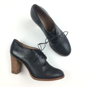 Madewell Bette High Heel Leather Oxford
